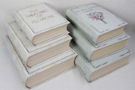 Коробка книга w9967 w9968 13шт