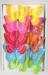 Бабочки 18см