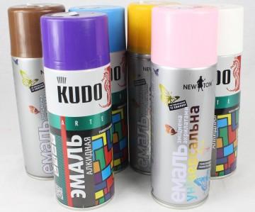 Спрей краска KUDO 520мл