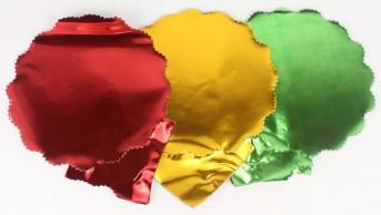 Подголовник цветной металл