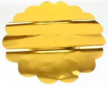 Салфетка  мет. золото д 60 500шт