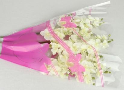 Пакет для цветка треуг-к 50*50*10см рис.+рис.