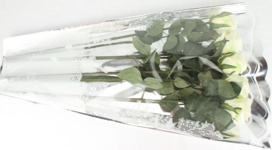 Пакет для цветка треуг-к 70*45*15см мет+рис