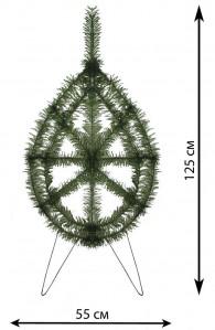 В 0,89 венок елка бол.россия