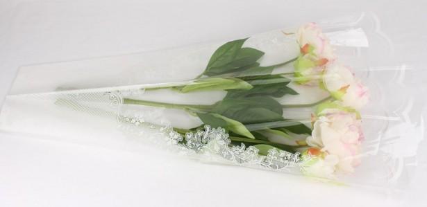Пакет для цветка треуг-к 70*60см рис+рис