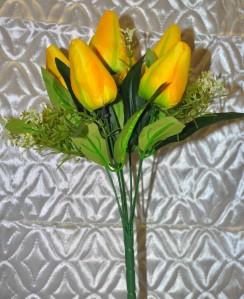 Букет тюльпана 7гол*10шт