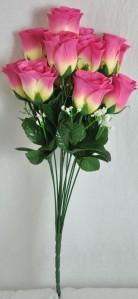 Букет роза бутон 12гол*20шт