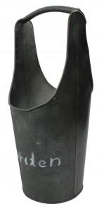 Вазон метал.черная HJ0004 37см
