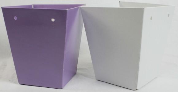 Коробка трапеция с отворотом
