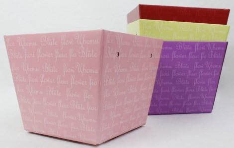 Коробка кашпо 118 х 154 х 125мм