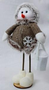 Снеговик WW0398 20см
