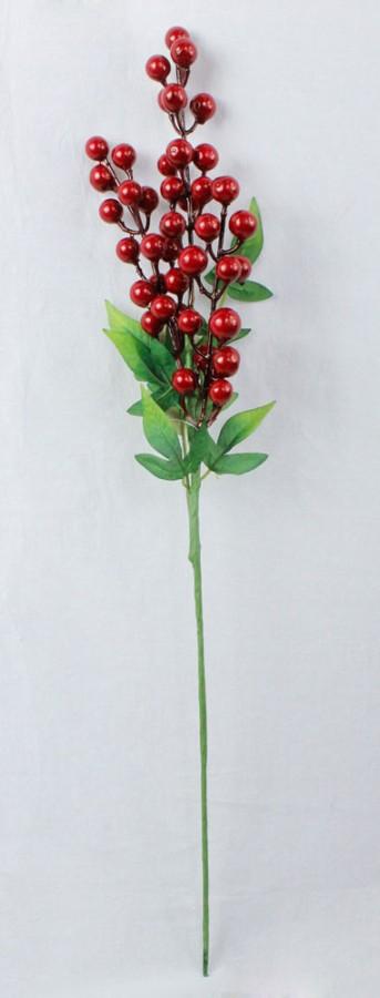 Ветка ягодка 55см K7L0210