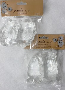 Камни стекло 12см*2шт SZ239 SZ237