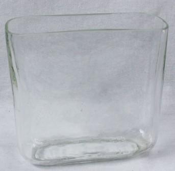 Стекло ваза 5794 Вирджиния-1 16*16*6см