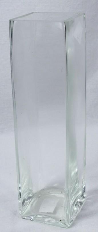 Стекло ваза 2517 Квадро Эль 26*7,5*7,5см