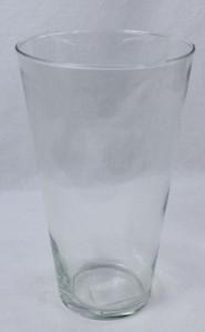 Стекло ваза 2064 Коническая Альта 24*15см