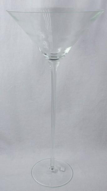 Стекло ваза 2184 Мартини Ангел 60*28,5см