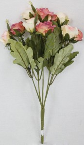 Букет роза 5гол*12шт*33см