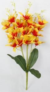 Букет орхидея 5гол*20шт*55см 072