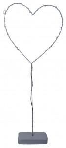 Сердце металл гирлянда ТХ106988925Х59+16 60*25см