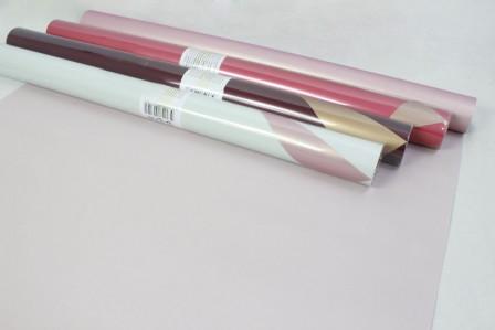 Пленка матовая двухцветная Ля Розе 60см 5м