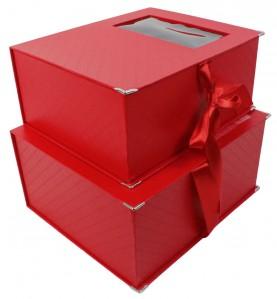 Коробка-книжка в клетку 720320 2шт