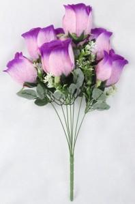 Букет роза бутон 7гол*1шт