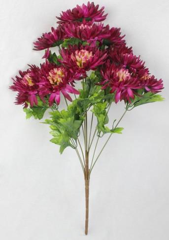 Букет хризантема 12гол*2шт