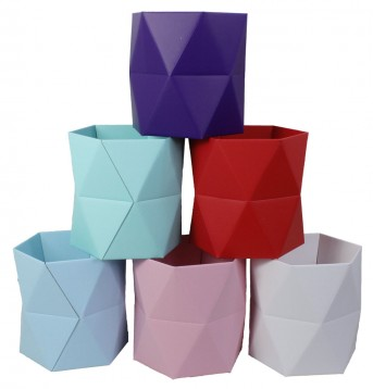 Коробка многогранная 3D 16*18см