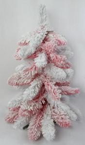 Елка бело-розовая ZX0865 60см