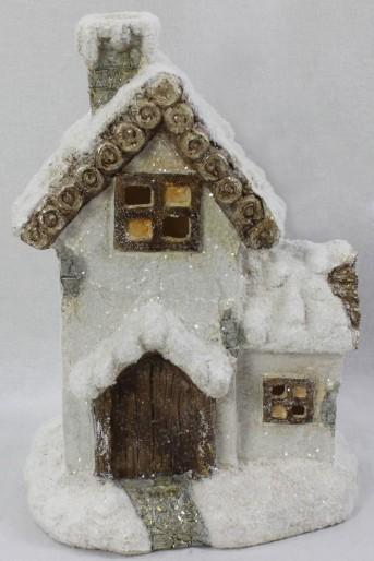 Домик керамика ZX0109 20*15*27см