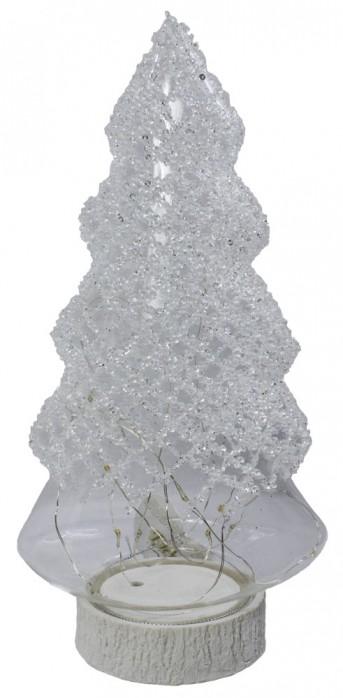 Елка стекло+лед WW0420 16*11,5*30см