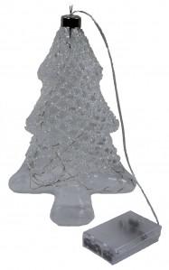 Елка стекло+лед WW0419 24*16.5см