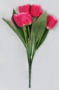 Букет тюльпана 7гол 20шт 130