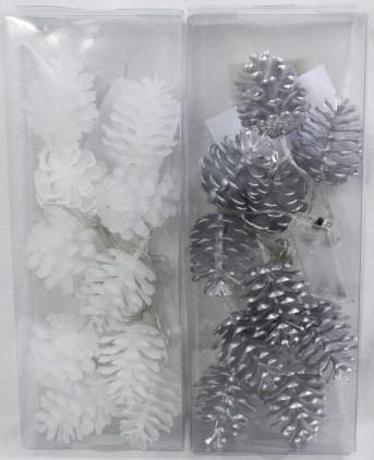 Гирлянда лед шишка TX07310 6см+10лед
