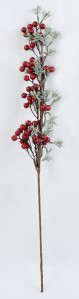 Ветка  ягодка KFW18236 65см