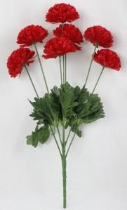 Букет хризантем 7гол 20шт 60см 098 500кор