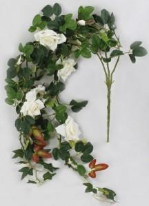 Ветвь лиана роза 95см 010