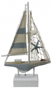 Корабль коллекция бич 186CAN1140 32*19*6см