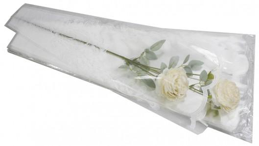 Пакет для цветка треуг-к 27*60см рис+рис