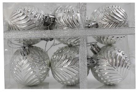 Набор пластиковых шаров 6см 6шт