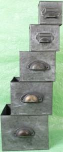 Ящик метал.5шт 155CAN15R11387
