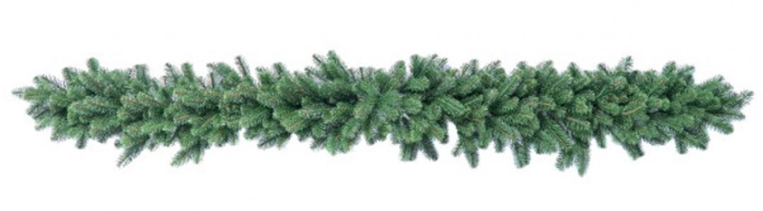Гирлянда хвоя Рождественская литая 220см