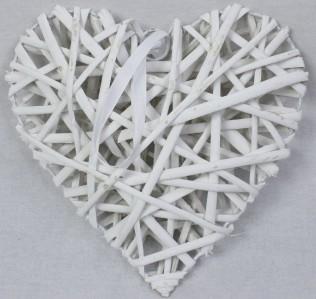 Сердце ротанговое QY25 25см