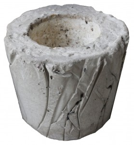 Горшок из бетона