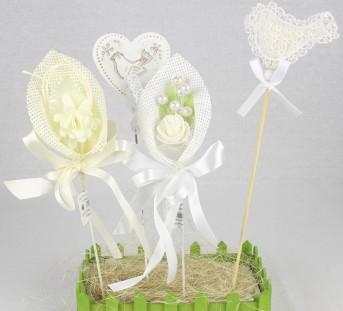 Разрыхлитель свадьба цветы в ассортименте