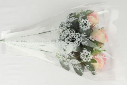 Пакет для цветка треуг-к рюмка 40*30*6см