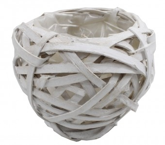 Корзина шар лоза 8см DXC16-1094