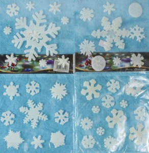 Снежинка на липучке ZCJ46705566