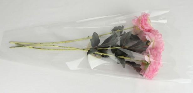 Пакет для цветка треуг-к 60*35см проз+проз